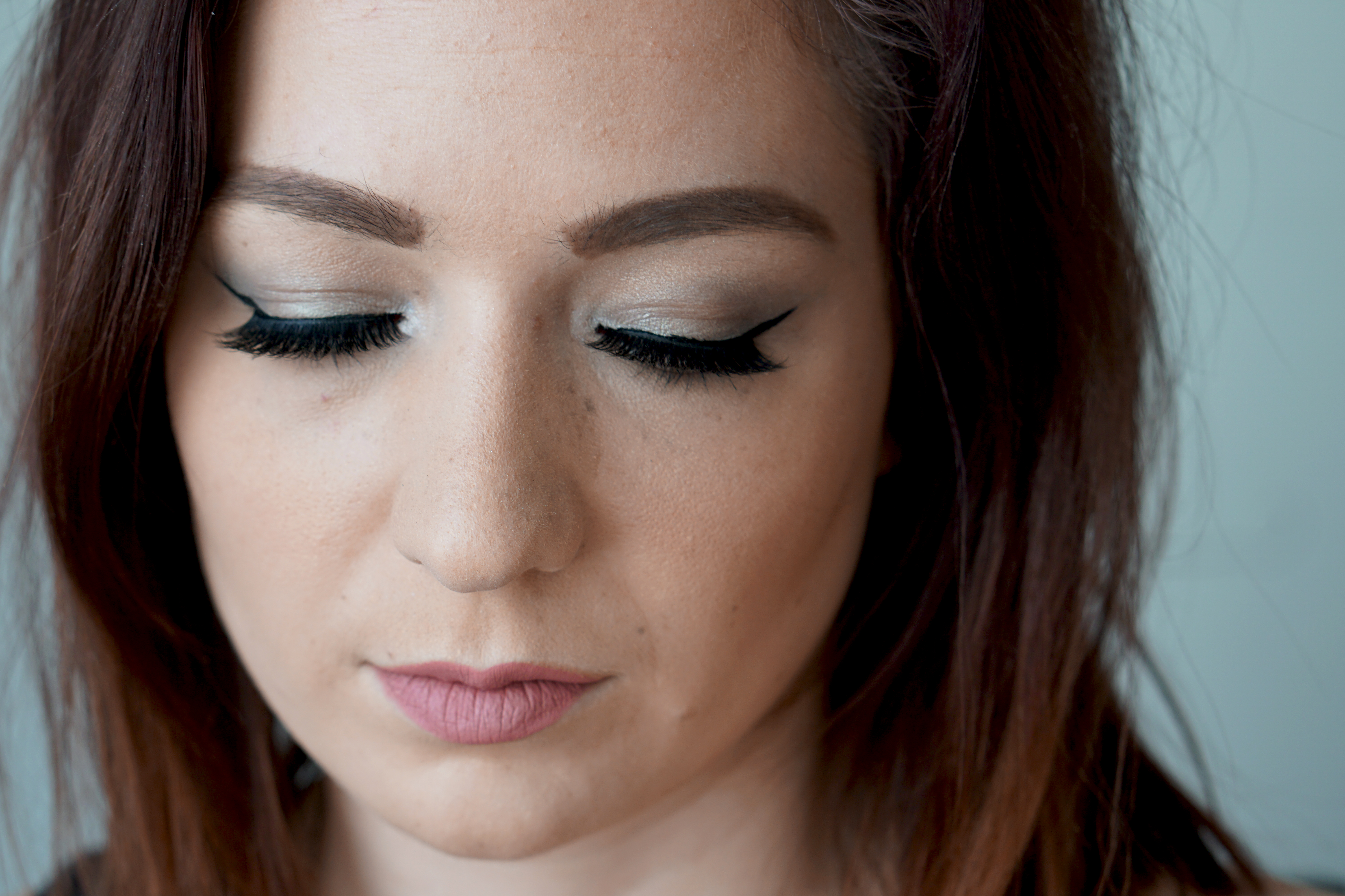 NYE Makeup with Tutorial-Maybelline and Esqido Lashes ...