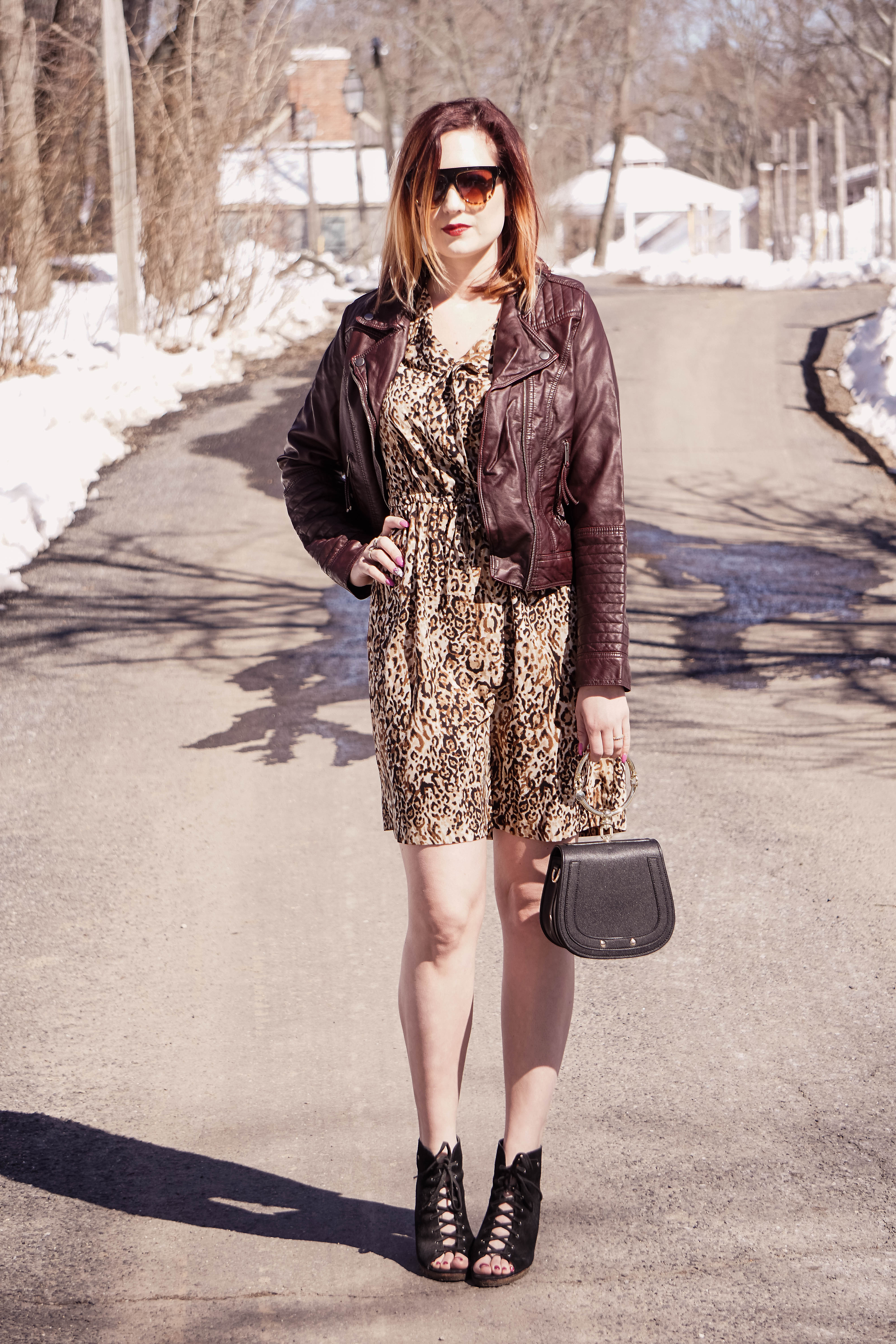 c941ce2390 leopard print dress with faux leather jacket 6 (1 of 1) - Jersey ...