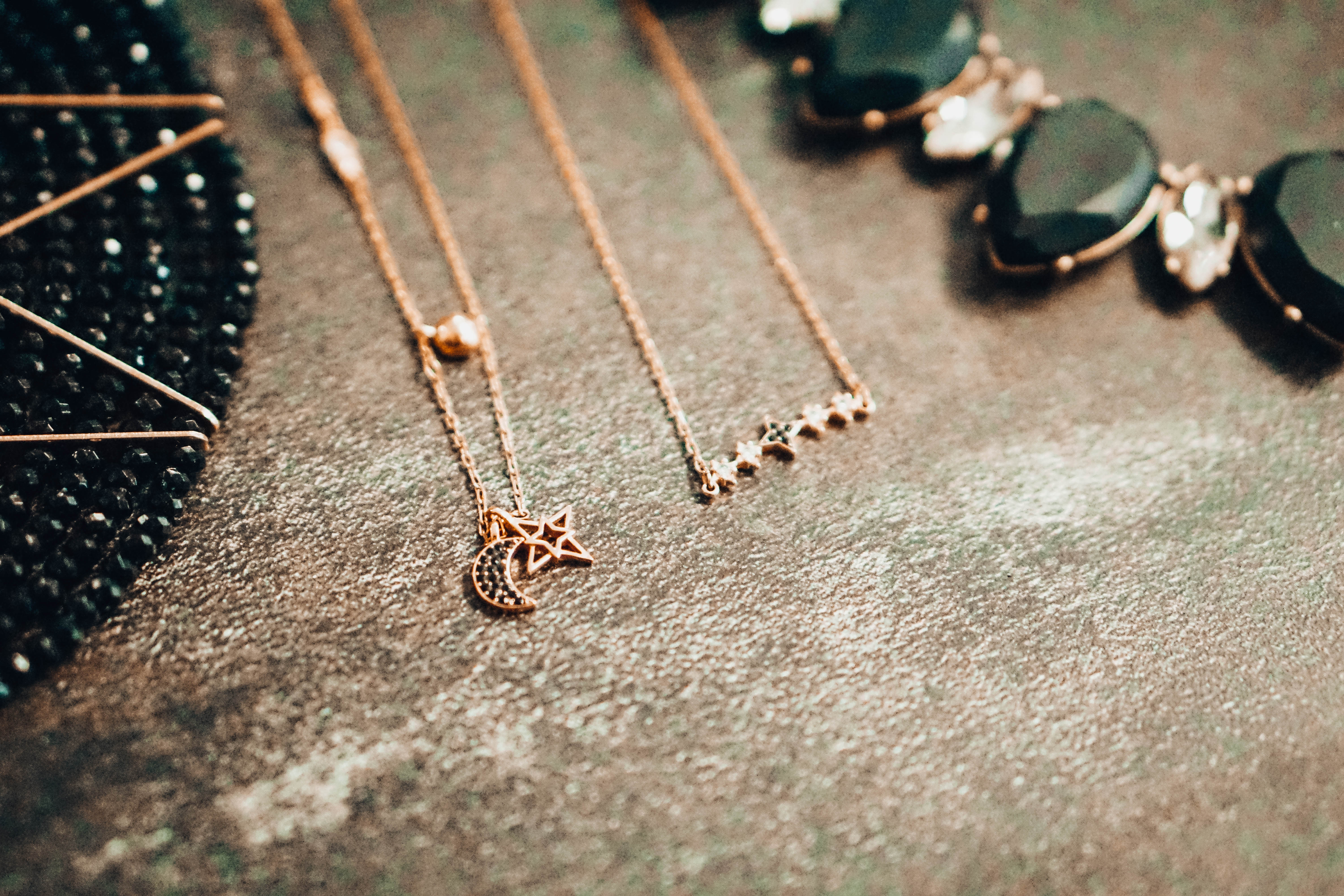 Black and Gold Color Combinations with my favorite Necklaces